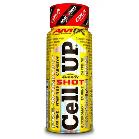 CellUp Energy Shot 1 vial x 60 ml Amix Pro