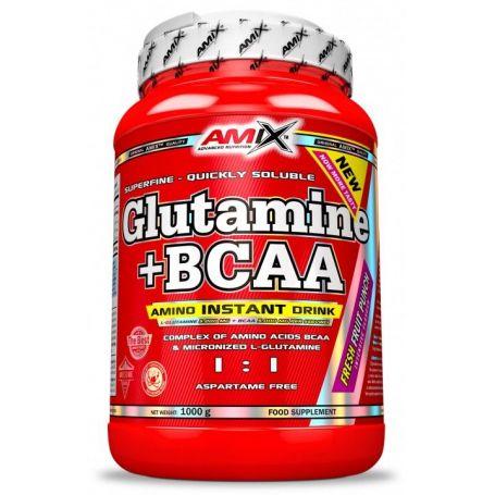 Glutamine + Bcaa´s 1000 gr