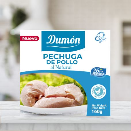Pechuga De Pollo Al Natural Dumon 160g