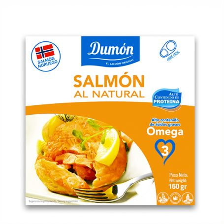 Salmón Al Natural Dumón 160 gr