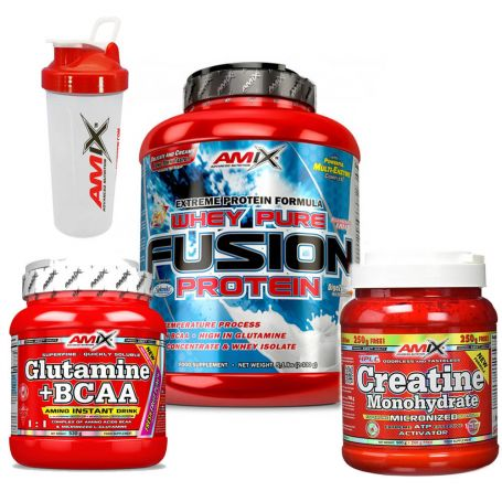 PACK AUMENTO MUSCULAR + REGALOS
