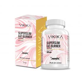 SUPER SLIM FAT BURNER 120 caps VIKIKA GOLD by AMIX