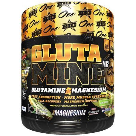 Glutamina + Magnesio 450 gr sabor kiwi