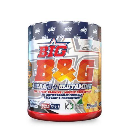 BCAAS 12.1.1 + Glutamina B&G 400gr BIG