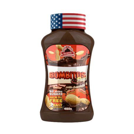 Crema de bombón BOMBITOS FLUP 450 gr Max Protein