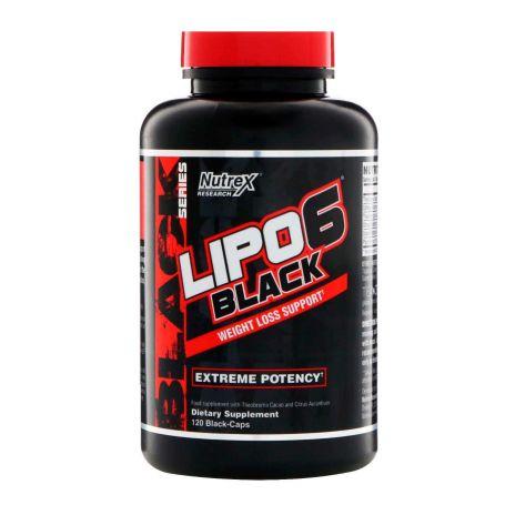 LIPO 6 BLACK de NUTREX 120 caps