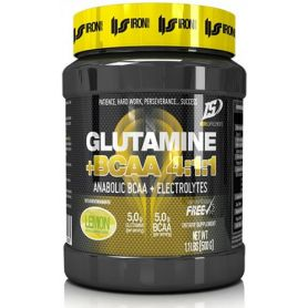 Glutamina + Bcaa´s 4:1:1 500 gr Iron Supplements