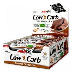 Barritas de Proteína Amix Low Carb 33% 15x 60 gr