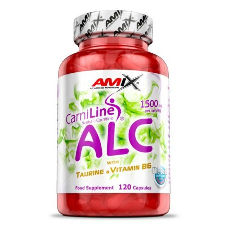 CarniLine ALC con Taurina y Vitamina B6 120 caps