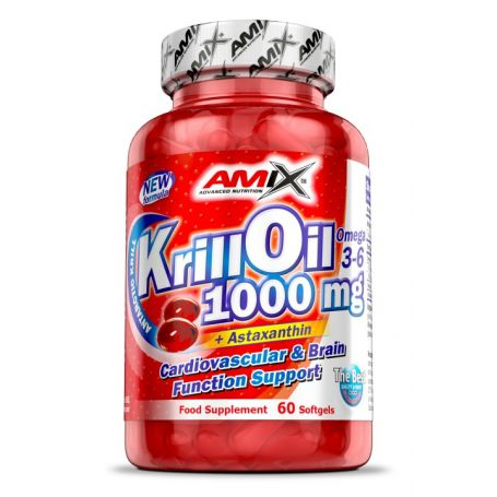 KRILL OIL 1000 MG 60 CAPS