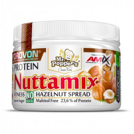 Crema de Avellanas Proteica Nuttamix 250 gr