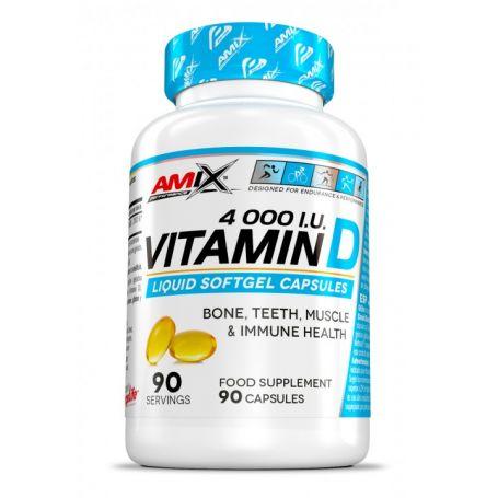 Vitamina D 4.000 UI 90 caps Amix Performance