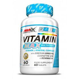 Vitamina MAX Multivitaminas 60 tabs Amix Performance