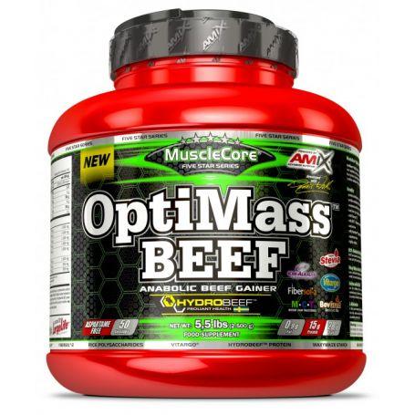 OptiMass Beef Gainer 2,5 kg Musclecore